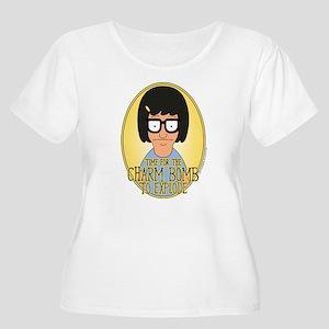 Bob's Burgers Women's Plus Size Scoop Neck T-Shirt