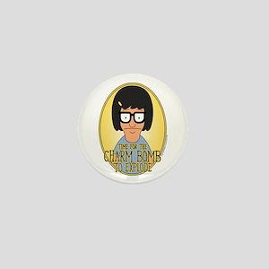 Bob's Burgers Tina Charm Bomb Mini Button