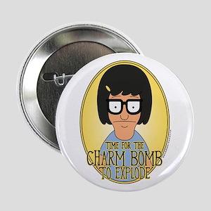 "Bob's Burgers Tina Charm Bomb 2.25"" Button"