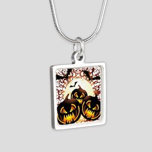 Black Pumpkins Halloween Night Necklaces