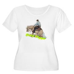 Reining Horse, Gold Digger T-Shirt