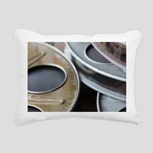 Movie Reel Rectangular Canvas Pillow