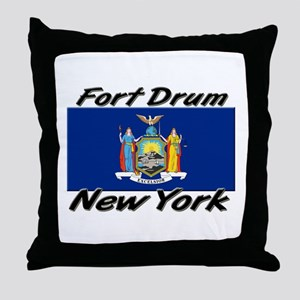 Fort Drum New York Throw Pillow