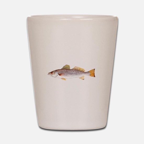 Speckled Trout Shot Glass