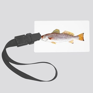 Speckled Trout Luggage Tag