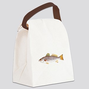 Speckled Trout Canvas Lunch Bag