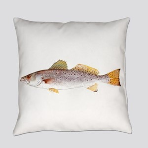 Speckled Trout Everyday Pillow