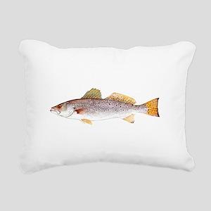 Speckled Trout Rectangular Canvas Pillow