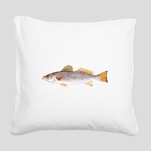 Speckled Trout Square Canvas Pillow