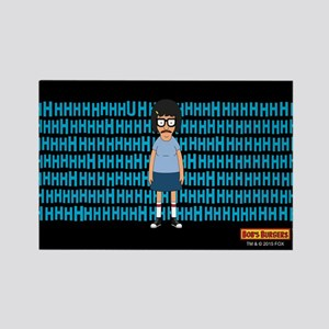 Bob's Burgers Tina Uhh Rectangle Magnet
