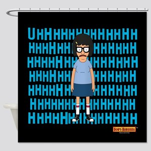 Bob's Burgers Tina Uhh Shower Curtain