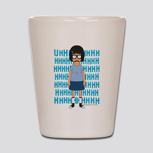 Bob's Burgers Tina Uhh Shot Glass