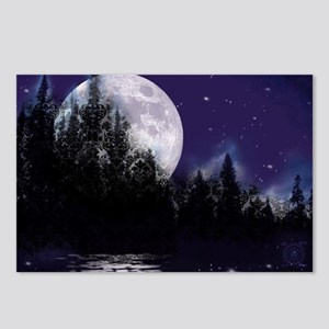 Trip to Hidden Lake Moon Postcards (Package of 8)