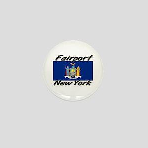 Fairport New York Mini Button
