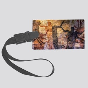The Hunt Large Luggage Tag