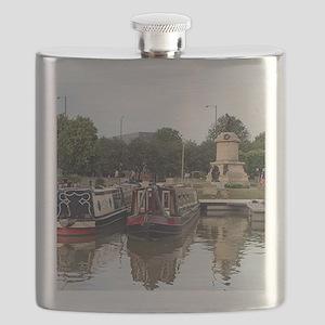 Stratford Upon Avon barges Flask