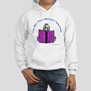Funny Librarian Hooded Sweatshirt