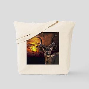 Antelope Sunset Tote Bag