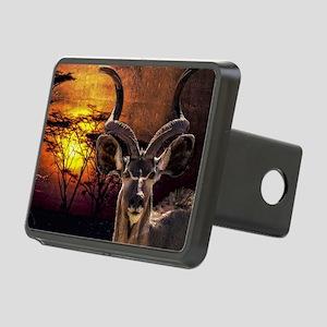 Antelope Sunset Rectangular Hitch Cover