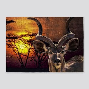 Antelope Sunset 5'x7'Area Rug