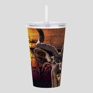 Antelope Sunset Acrylic Double-wall Tumbler
