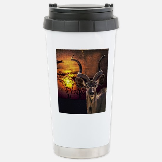 Antelope Sunset Stainless Steel Travel Mug