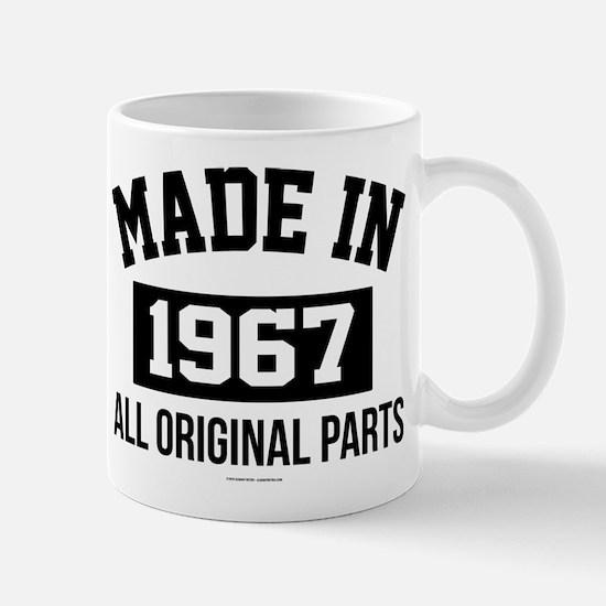 Made in 1967 Mugs