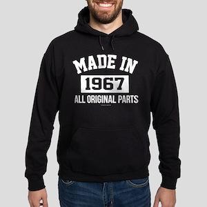 Made in 1967 Hoodie (dark)