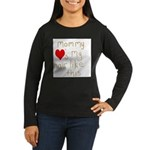 Mommy Loves It Women's Long Sleeve Dark T-Shirt