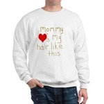 Mommy Loves It Sweatshirt