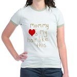 Mommy Loves It Jr. Ringer T-Shirt
