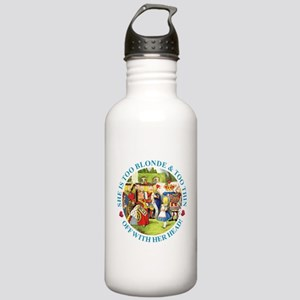 She's Too Blonde & Too Stainless Water Bottle 1.0L