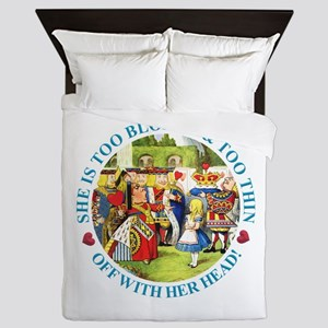 She's Too Blonde & Too Thin! Off With Queen Duvet