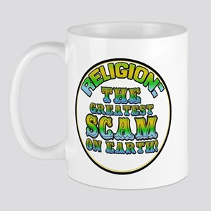 Religion / Scam Mug