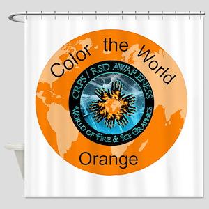Color the World Orange CRPS RSD Awareness Shower C