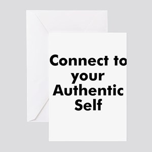 Connect to your Authentic Sel Greeting Cards (Pk o