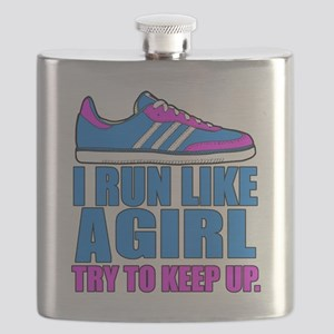 Run Like a Girl II Flask