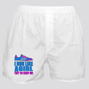 Run Like a Girl II Boxer Shorts
