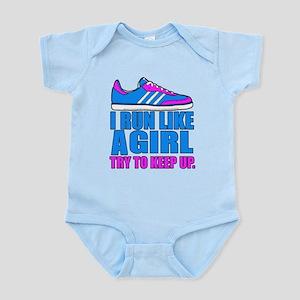 Run Like a Girl II Body Suit