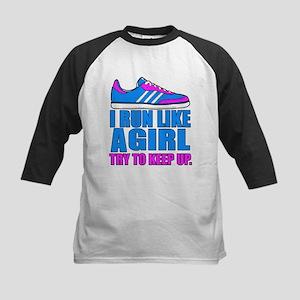 Run Like a Girl II Baseball Jersey