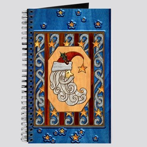 Harvest Moon Crescent Santa Journal