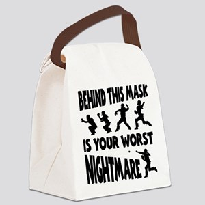 WORST NIGHTMARE Canvas Lunch Bag