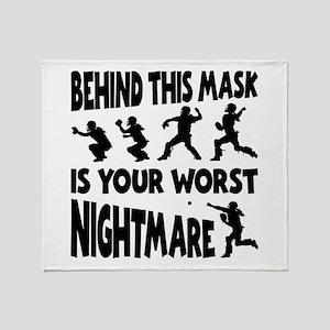 WORST NIGHTMARE Throw Blanket