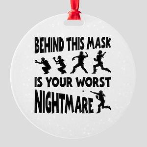 WORST NIGHTMARE Round Ornament