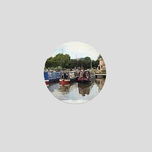 Stratford Upon Avon barges Mini Button