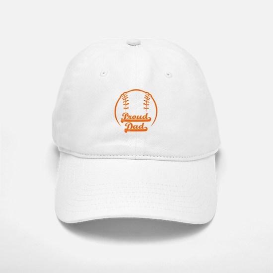 PROUD DAD Baseball Baseball Cap