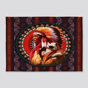 Lakota Chief 5'x7'Area Rug