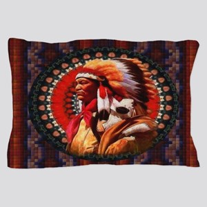Lakota Chief Pillow Case