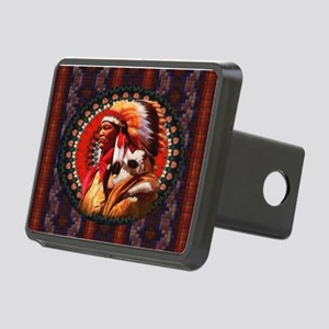 Lakota Chief Rectangular Hitch Cover