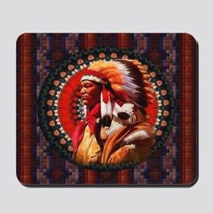 Lakota Chief Mousepad
